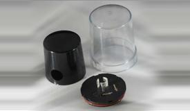LED室外照明部件:调光光控器底座、套筒和上盖