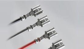 多种线径,一个端子:TE 2维压接快接端子