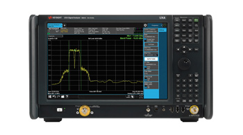 UXA X-Series Signal Analyzer, Multi-touch N9041B