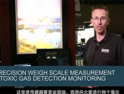 精密电子秤测量和有毒气体检测