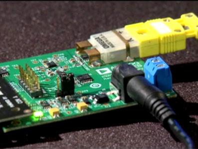 K型热电偶测量系统